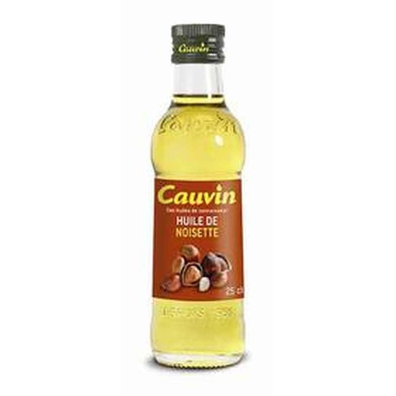 Huile de noisettes, Cauvin (25 cl)