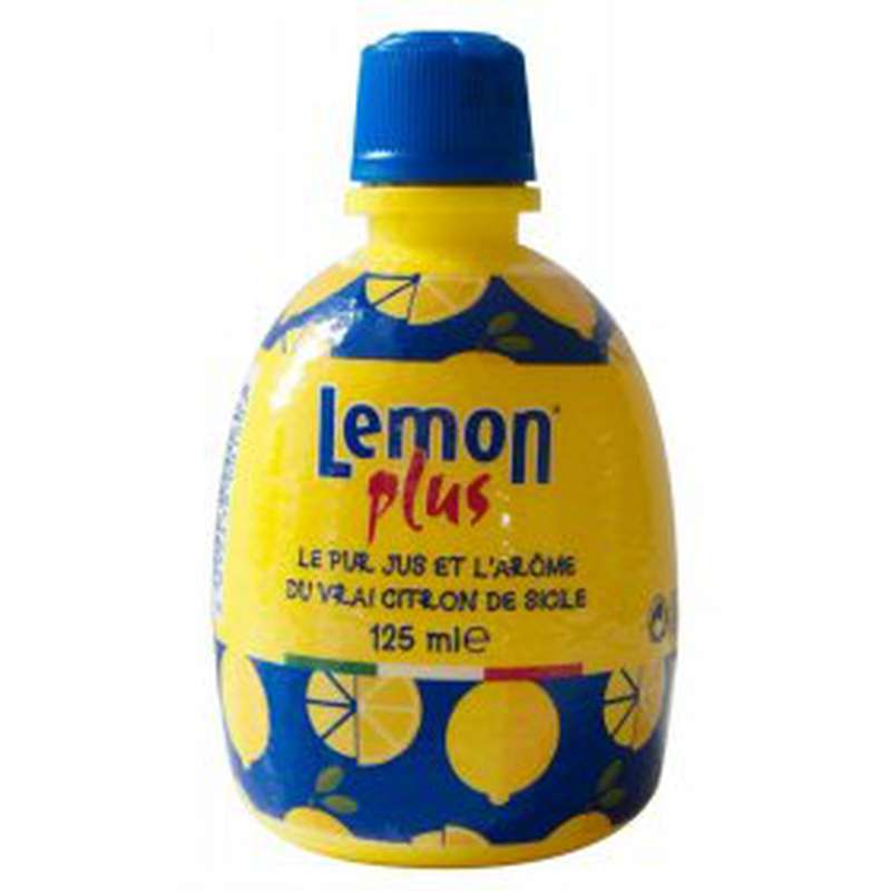Jus de citron jaune de Sicile, Lemon Plus (12.5 cl)