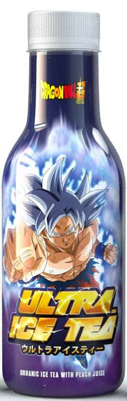 Ice Tea pêche Dragon Ball Z Goku BIO (50 cl)