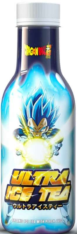 Ice Tea pêche Dragon Ball Z Vegeta BIO (50 cl)