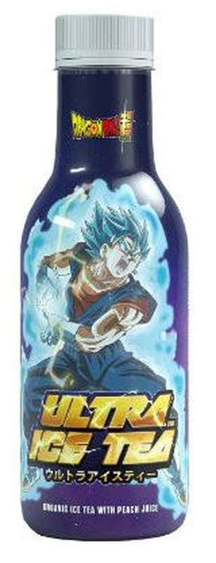 Ice Tea pêche Dragon Ball Z Vegeto BIO (50 cl)