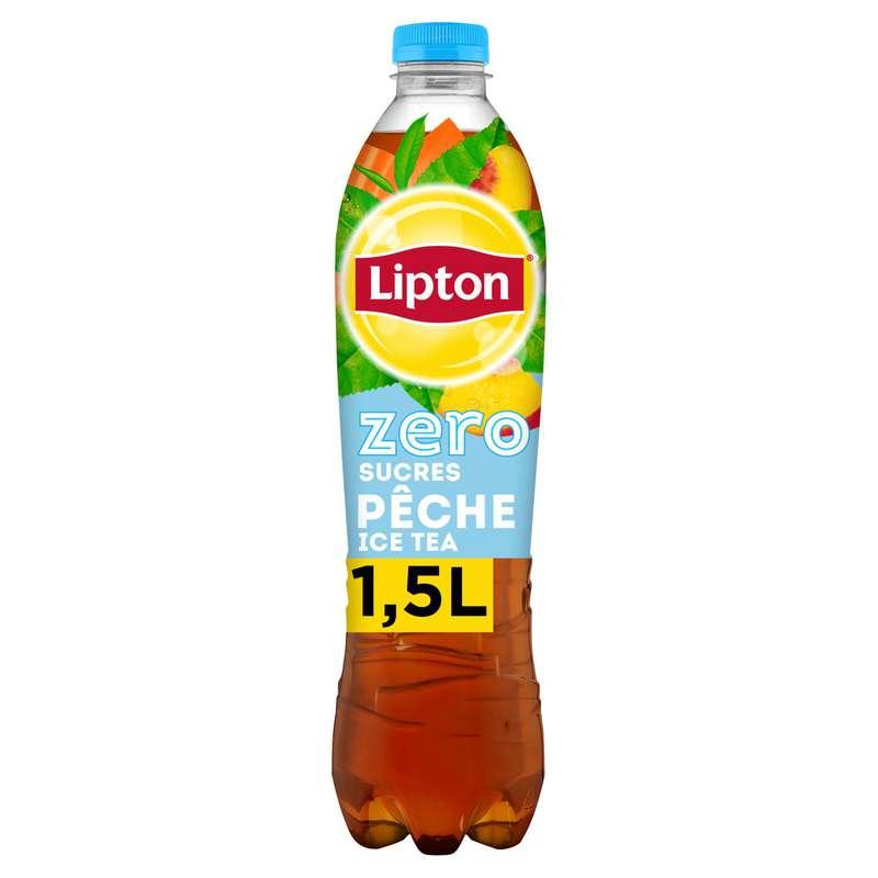Ice Tea pêche Zero, Lipton (1,5 L)