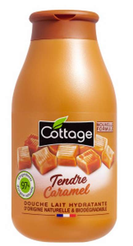Douche lait Tendre Caramel, Cottage (250 ml)