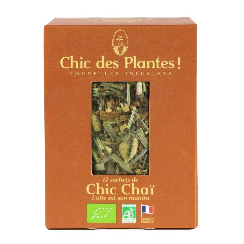 Infusion Chic Chaï douceur BIO, Chic des Plantes (12 sachets)