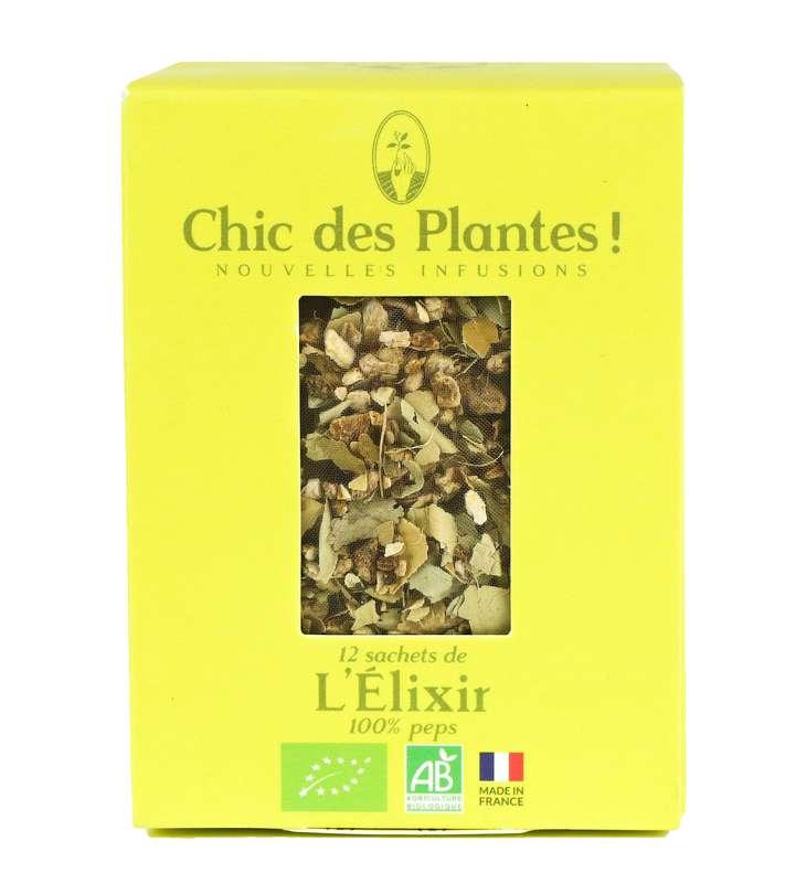Infusion l'Exilir vitalité BIO, Chic des Plantes (12 sachets)