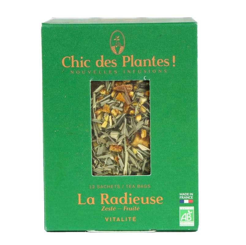 Infusion La Radieuse vitalité BIO, Chic des Plantes (12 sachets)