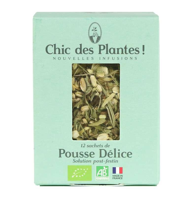 Infusion Pousse Délice Digestion BIO, Chic des Plantes (12 sachets)