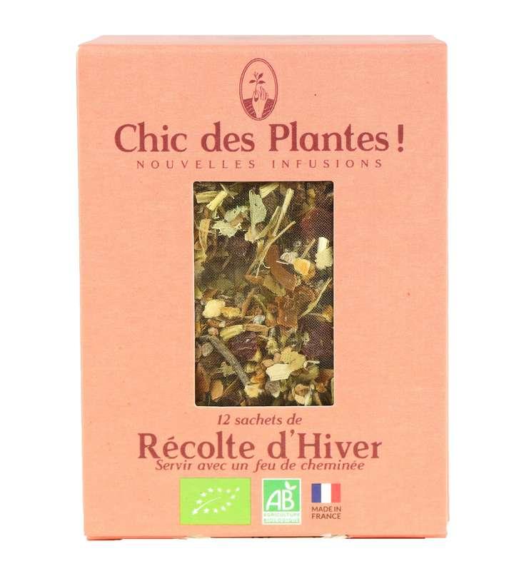 Infusion Récolte d'Hiver digestion BIO, Chic des Plantes (12 sachets)