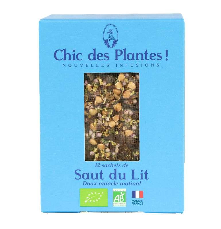 Infusion Saut du Lit douceur BIO, Chic des Plantes (12 sachets)