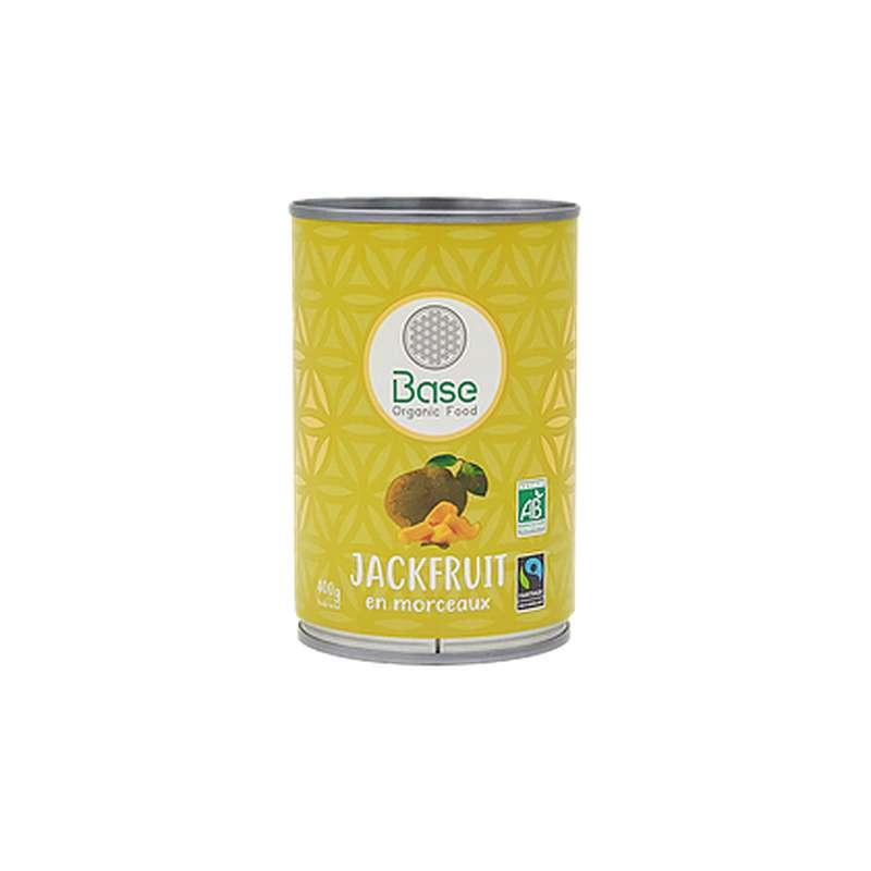 Jackfruit en morceaux BIO, Base Organic Food (400 g)