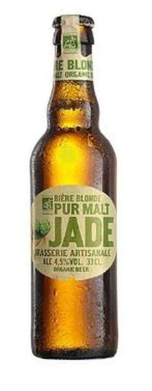 Jade bière blonde BIO, 4,5° (25 cl)