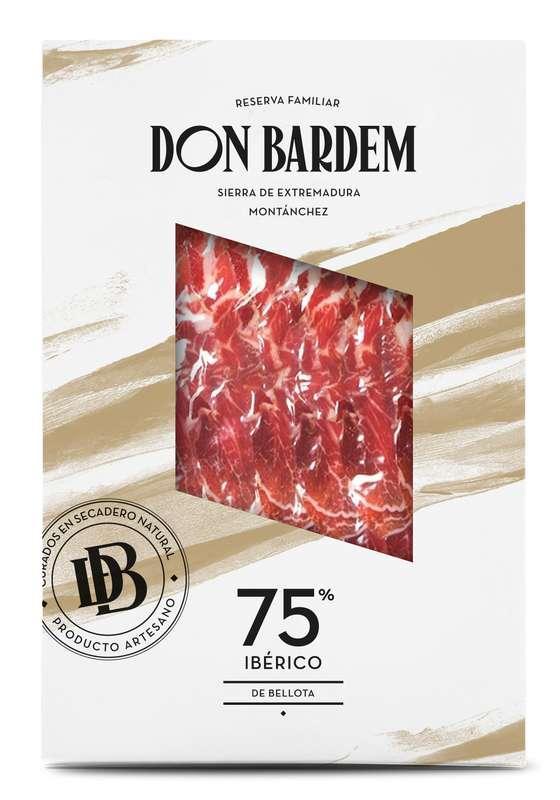 Jambon de Bellota 75% Ibérico, Don Bardem (80 g)