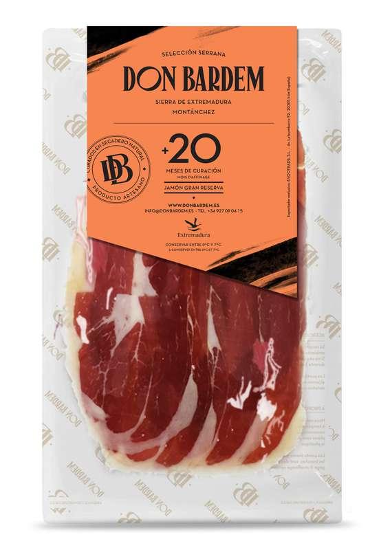 Jambon Serrano 20 mois d'affinage, Don Bardem (100 g)