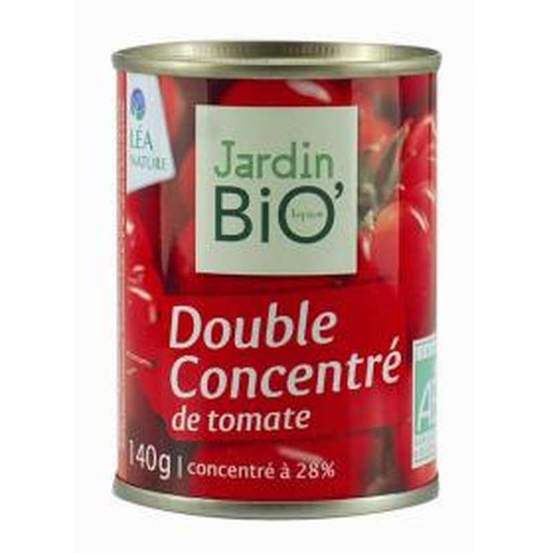 Double concentré de tomate BIO, Jardin Bio (140 g)