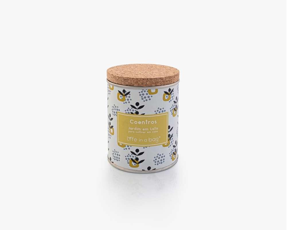 Jardin en boîte Modern Coriandre, Life In a Bag (210 g)
