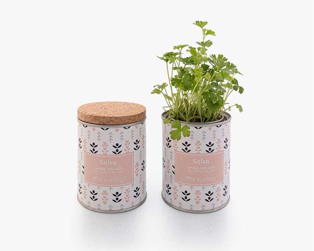 Jardin en boîte Modern Persil, Life In a Bag (210 g)