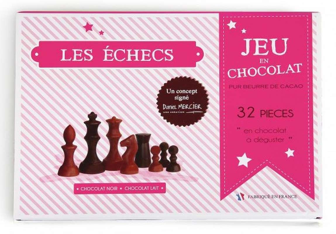 Jeu d'Échecs en chocolat, Chocolaterie Mercier (280 g)