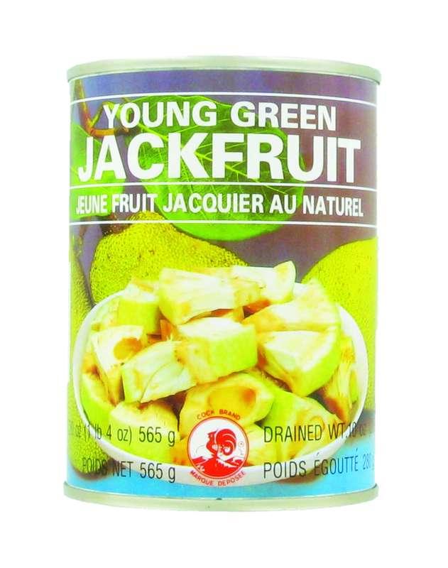 Jeune fruit du jacquier au naturel, Cock (565 g)