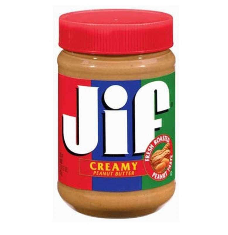 Beurre de cacahuètes onctueux, Jif (454 g)