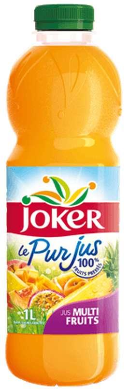 Pur jus multifruits, Joker (1 L)