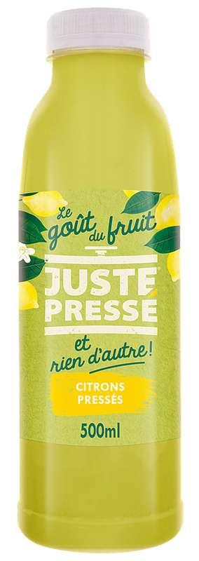 Jus 100% Citrons pressés, Juste Pressé (50 cl)