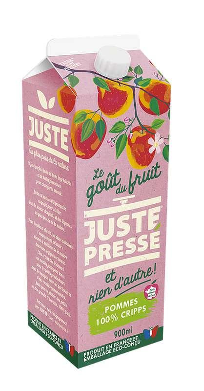 Jus 100 % Pommes pressées Cripps Pink, Juste Pressé (90 cl)