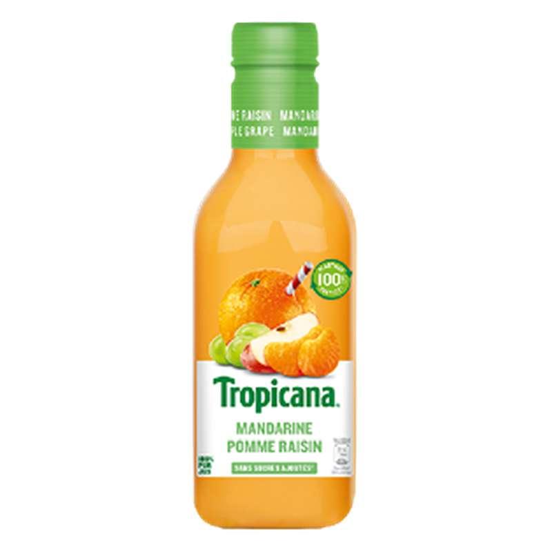Jus d'orange, pomme, raisin et mandarine, Tropicana (90 cl)