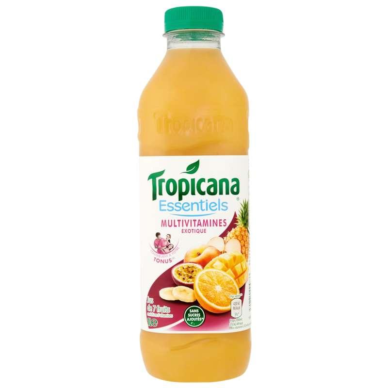 Jus Multivitamines Exotique, Tropicana, (1 L)