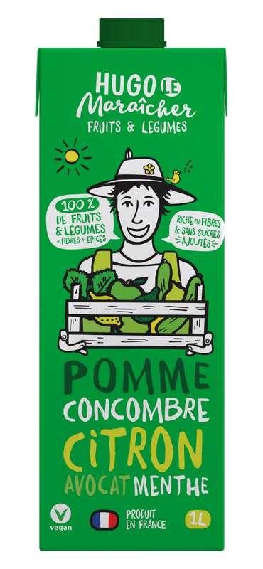 Jus de Pomme, Concombre, Avocat, Citron et Menthe, Hugo Le Maraîcher (1L)