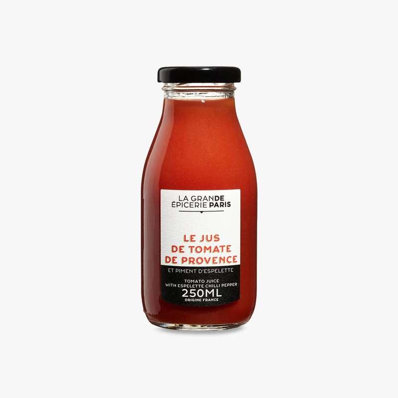 Jus de tomate de Provence et piment d'Espelette, La Grande Epicerie de Paris (25 cl)