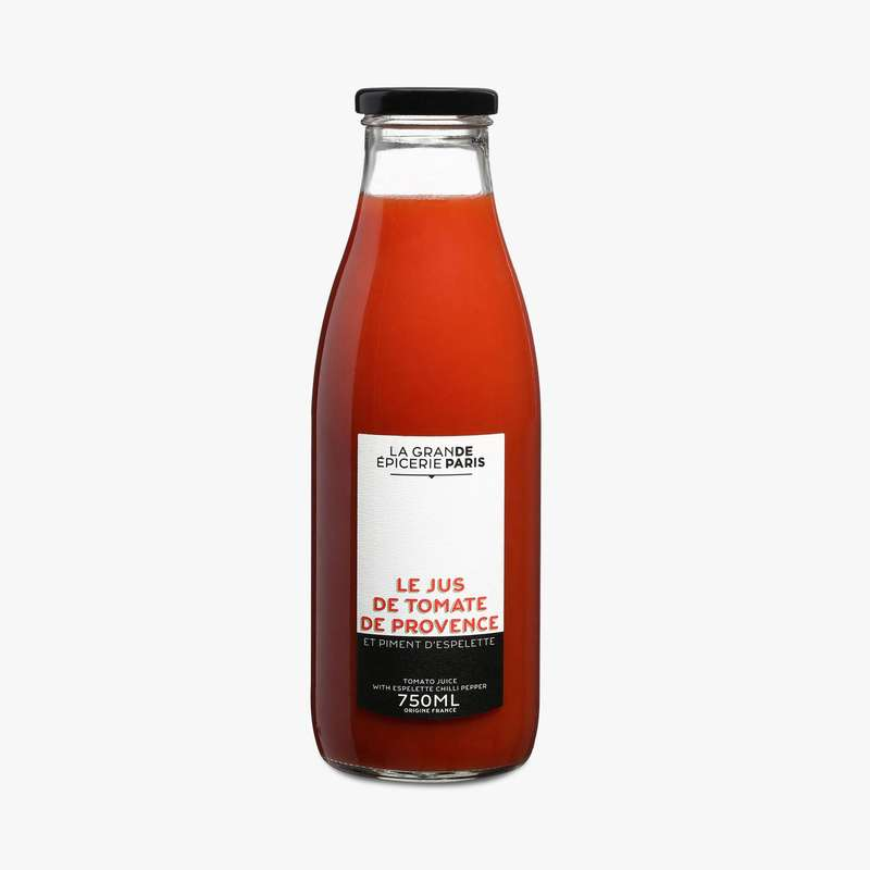 Jus de tomate de Provence et piment d'Espelette, La Grande Epicerie de Paris (75 cl)