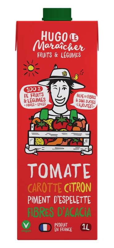 Jus de Tomates, Carottes, Citron et Piment d'Espelette, Hugo Le Maraîcher (1L)