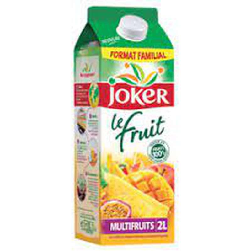 Jus multifruits Le Fruit, Joker (2 L)