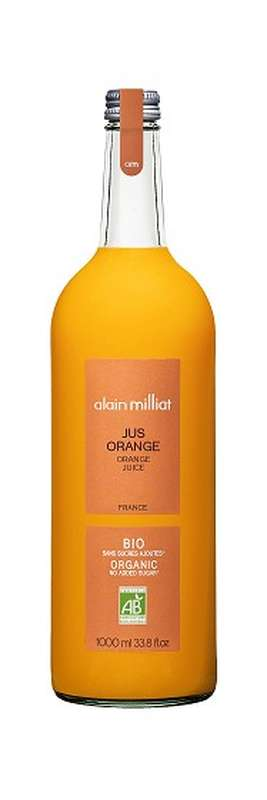 Jus Orange BIO, Alain Milliat (1 L)