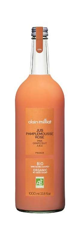Jus Pamplemousse Rose BIO, Alain Milliat (1 L)