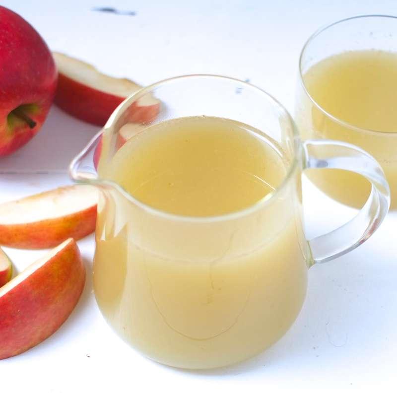 Jus frais de pommes maison (1 litre)