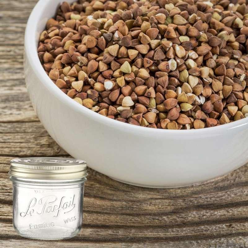 Kasha (sarrasin grillé) BIO bocal consigné / 2,5€ récupérable (550 g)