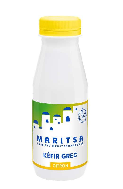 Kéfir de lait de vache citron, Maritsa (250 ml)