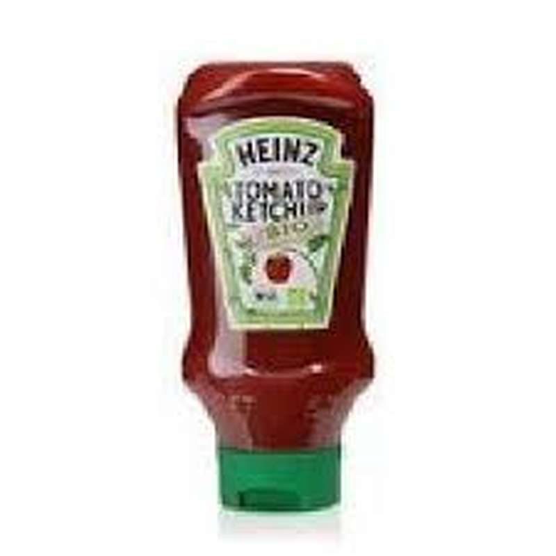 Ketchup BIO Top Down en flacon, Heinz (580 g)