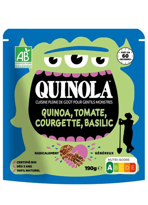 Kids quinoa tomate, courgette et basilic BIO, Quinola (190 g)