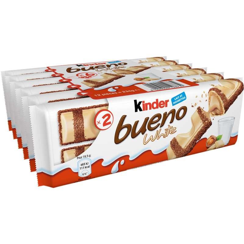 Kinder Bueno White (x 6, 234 g)