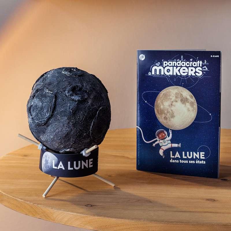 Kit éducatif Makers La Lune 8-12 ans, Pandacraft