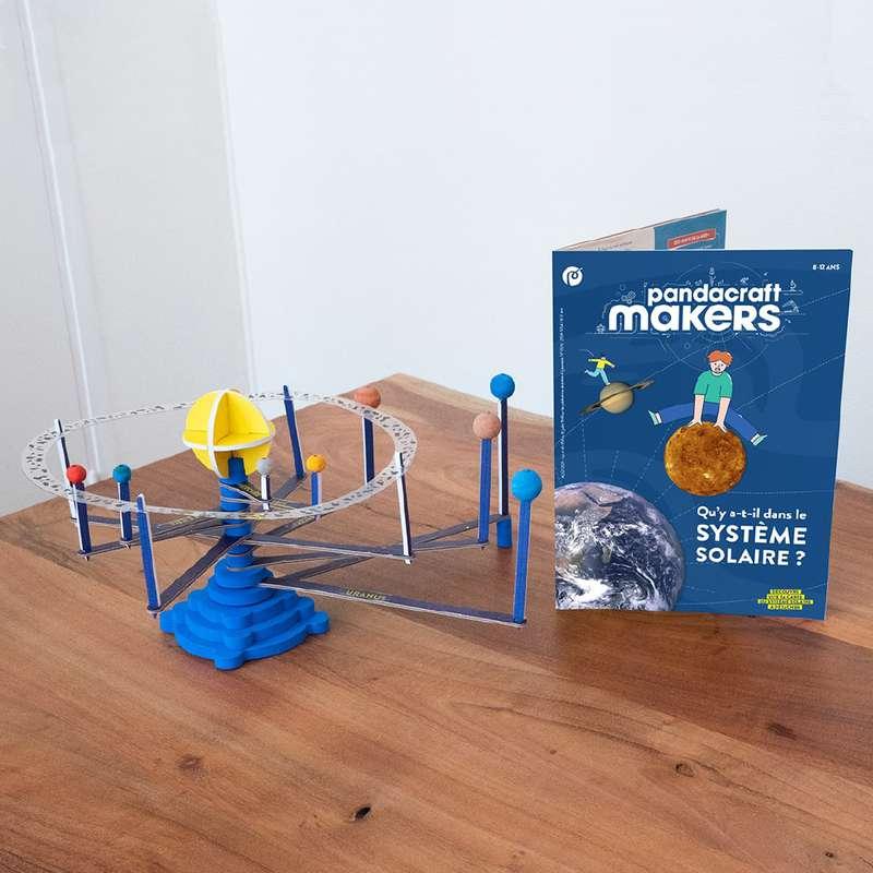 Kit éducatif Makers Le Système Solaire 8-12 ans, Pandacraft