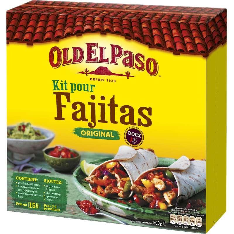 Kit pour fajitas original, Old el Paso (500 g)