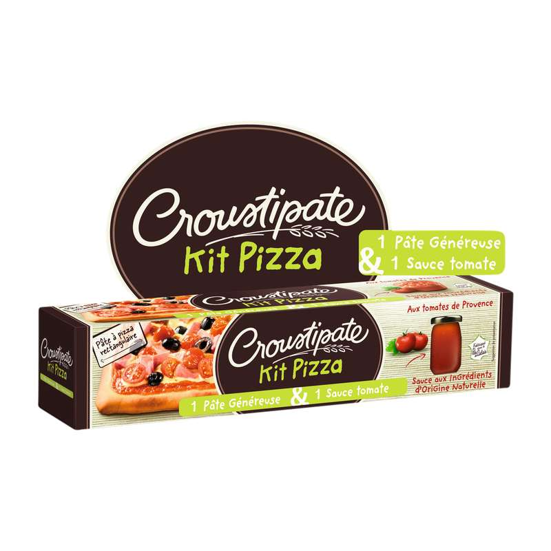 Kit pizza, Croustipâte (600 g)