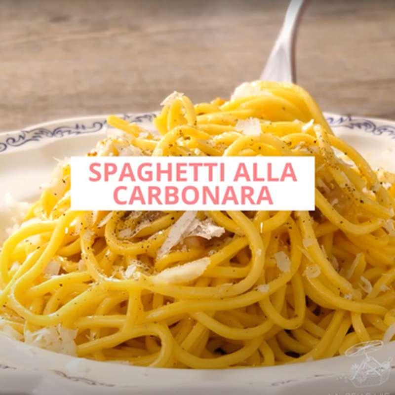 Kit recette / Spaghetti alla carbonara (pour 2, 3)