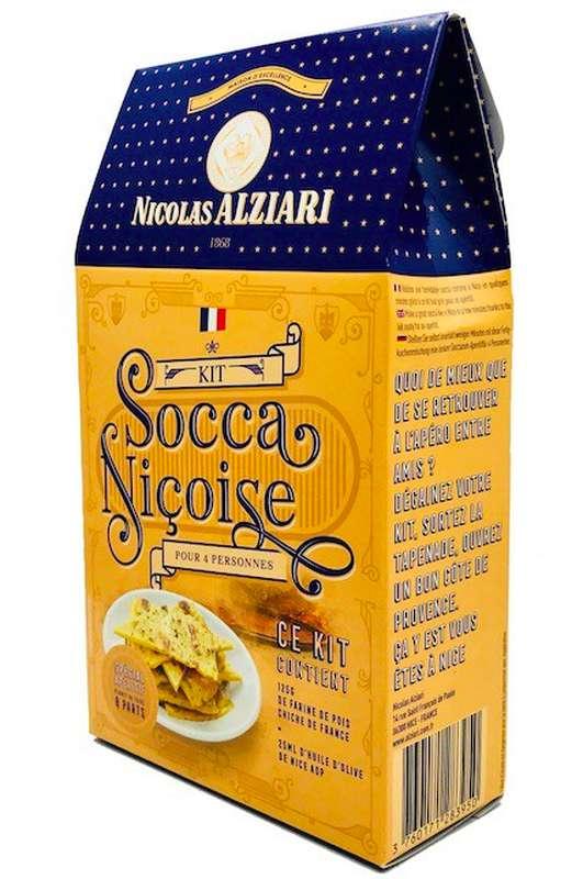 Kit socca niçoise 4 pers , Nicolas Alziari (125 g)