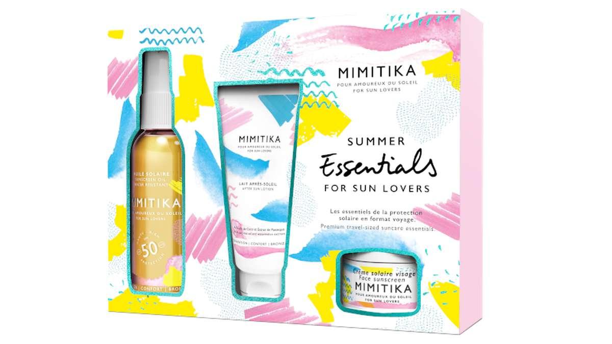 Kit Summer Essentials - huile solaire SPF50, Mimitika (x 1)