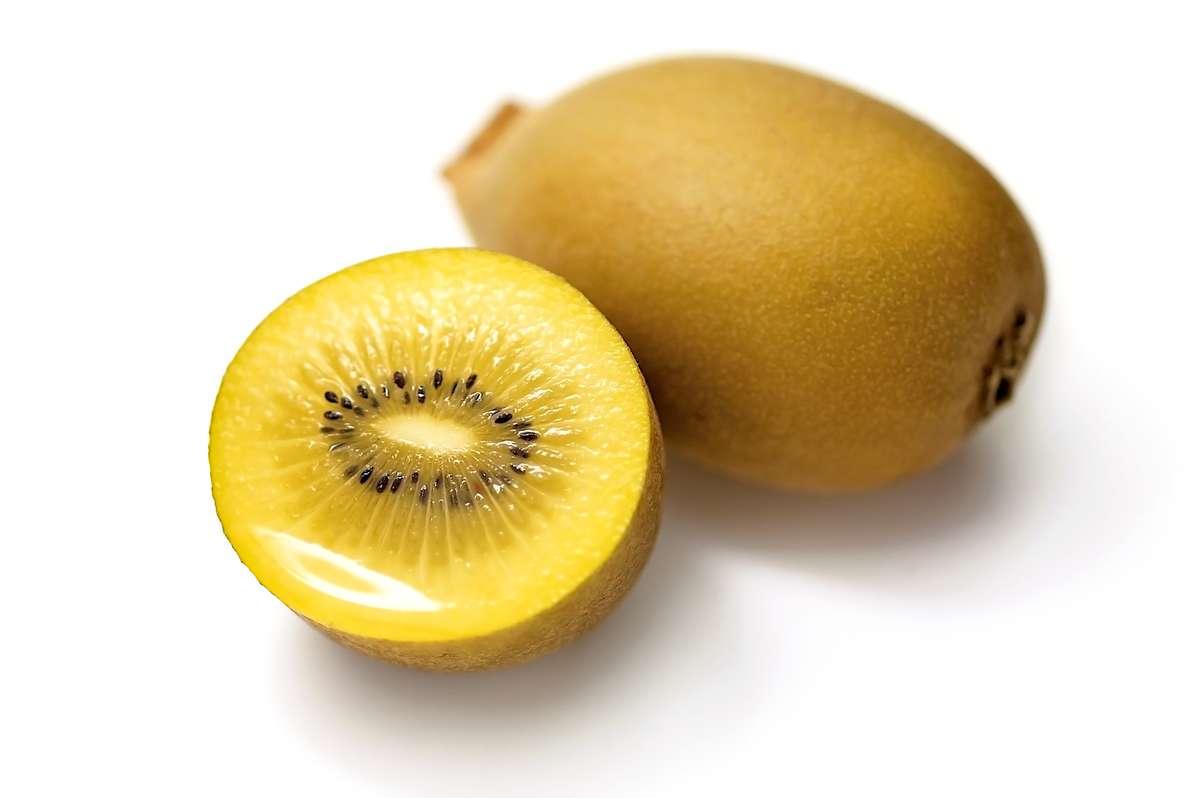 Kiwi SunGold (à chair jaune) BIO (calibre moyen), Nouvelle-Zélande