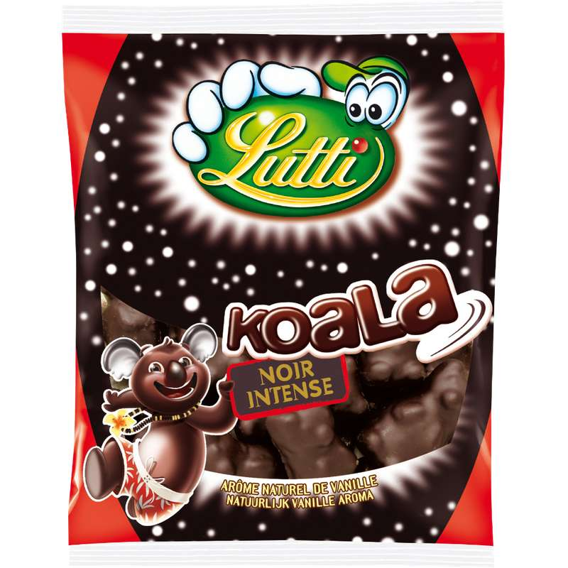 Koala noir intense, Lutti (185 g)